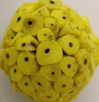Sola ata 6cm color žlutá