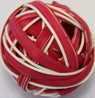 Ratan ball B 6cm červená
