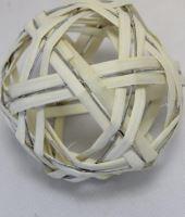 Ratan ball C 10cm bílá