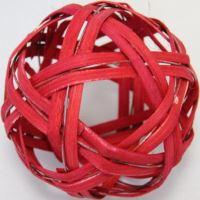 Ratan ball C 10cm červená