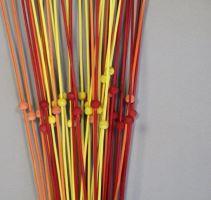 1040 ŠARŽE ting mix červená/žlutá