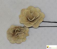 Betal rose 6 cm bílá