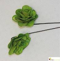 Betal rose 6 cm zelená