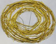 Držák proutí 5 25 cm žlutá