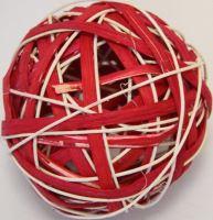 Ratan ball B 10cm červená
