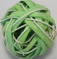 Ratan ball B 6cm zelená