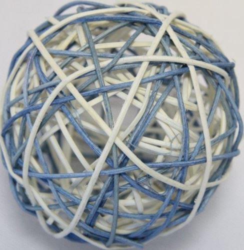 Modrá/bílá