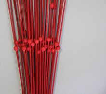 1040 ŠARŽE ting červená