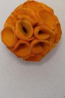Sola crape ball 6cm color oranžová