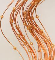 Curly ting korálek oranžová