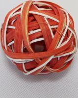 Ratan ball B 6cm oranžová